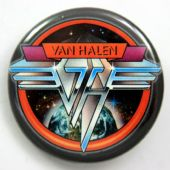 Van Halen - 'Space Logo' 32mm Badge